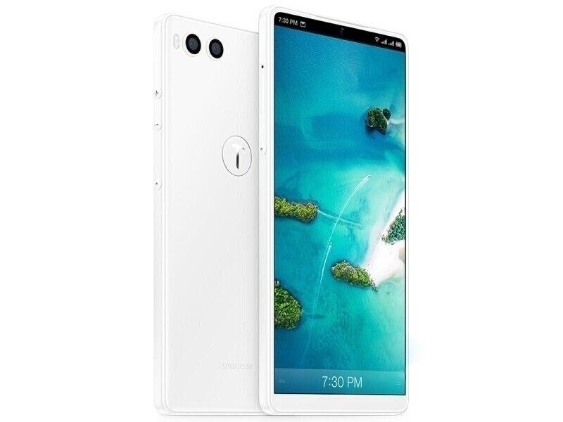 Фото3 - Смартфон Smartisan Nut R1, 4G, LTE, экран 6,17 дюйма, 6 ГБ ОЗУ 128 Гб ПЗУ, две SIM-карты, сканер отпечатка пальца, двойная задняя камера, мобильный телефон