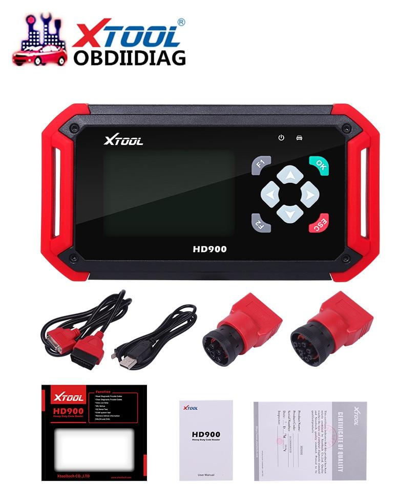 XTOOL HD900 Eobd2 OBD2 CAN BUS Code Reader Auto Heavy Duty Diagnostic Scanner XTOOL HD900 Code Reader