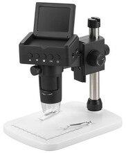 Microscope numérique Endoscope portatif 2.4 pouces   1080 mp P 10x à 220x HDMI/TV/USB, sortie TV/USB