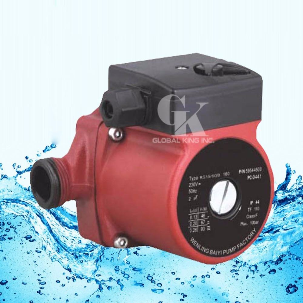220-240V Circulator Pump G 1'',3-Speed Hot Water Circulating Pump(RS15-6G)