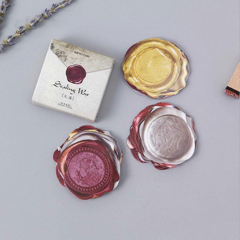 45 unids/lote caja de sellado de cera etiqueta con forma especial diy bolsa de regalo de mano sellado kawaii cinta adhesiva decorativa envío gratis