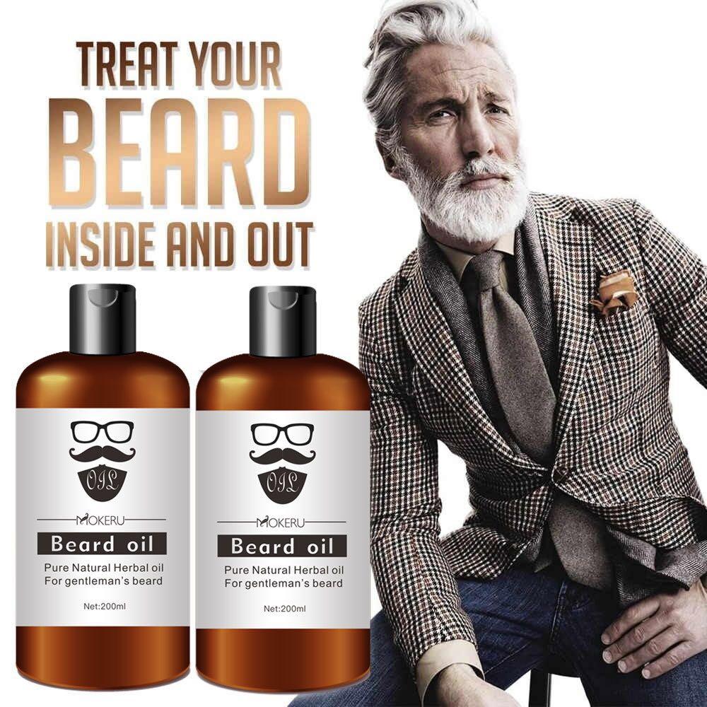 100% productos naturales para la pérdida de cabello, aceite puro para Barba, aceite orgánico para el crecimiento de la barba, Barbe Men, cuidado de la barba para el crecimiento del cabello