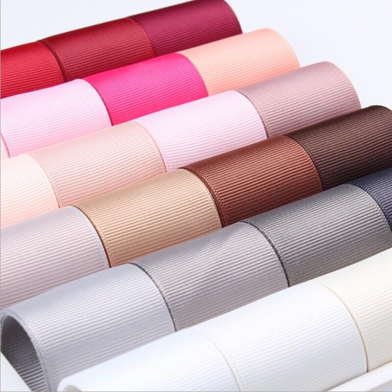 "Grosgrain Ribbon 100% Polyester  6 9 16 25 38 50 MM  1/4"" 3/8"" 5/8"" 1"" 2"" Inch"