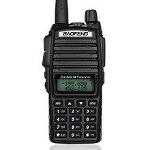 100 pièces nouveau Baofeng UV-82 V/U 136-174/400-520 MHz FM Ham Radio bidirectionnelle talkie-walkie + casque DHL/FEDEX