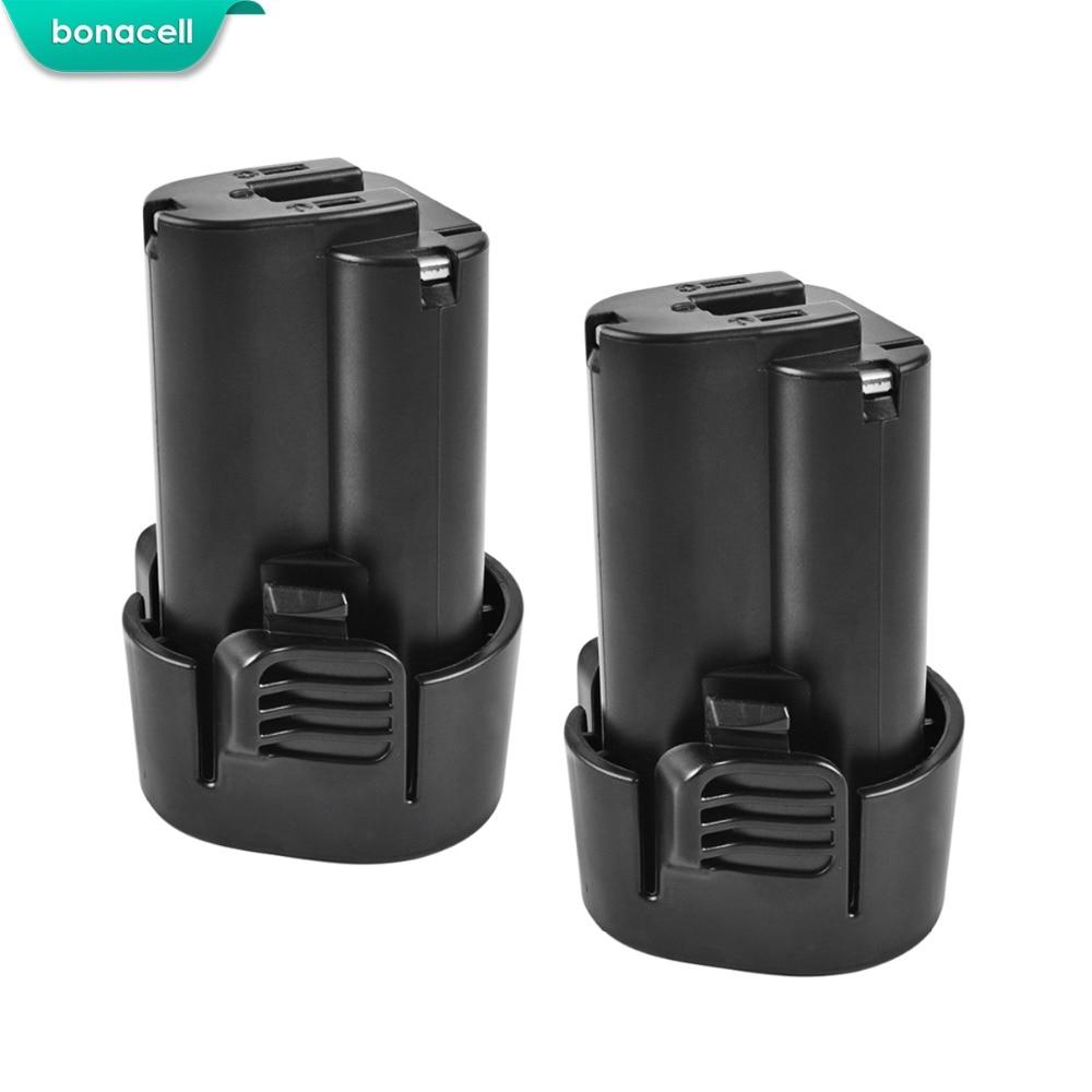 2X 1500mAh 10.8V BL1013 Li-ion Rechargeable Battery for MAKITA BL1014 TD090D TD090DW DF030D LCT203W 194550-6 194551-4
