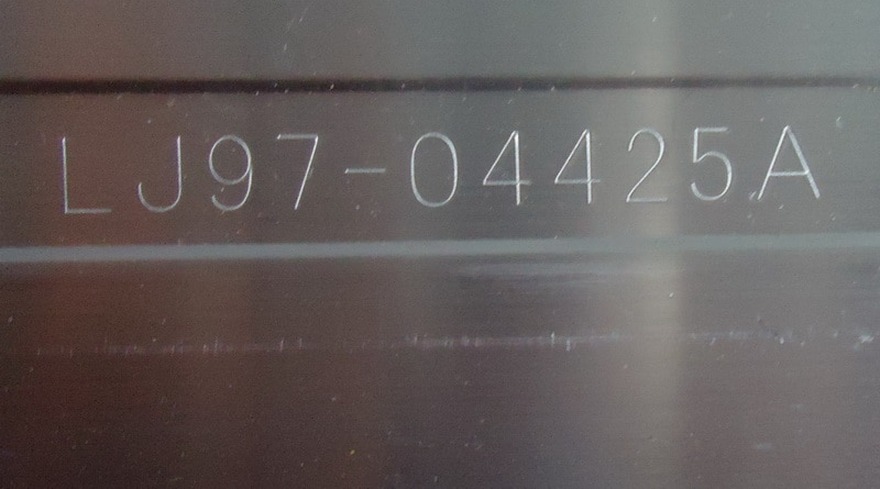 LJ64-04425A المادة مصباح 1 قطعة = 54LED 492 مللي متر