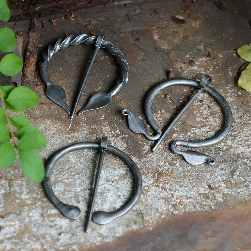 Подвесная брошь Викинга, плащ-штифт, средневековая застежка, украшения для Викинга, украшения из норзы, шали и аксессуары, украшения оптом