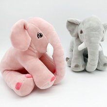 20cm Super Soft Elephant Toy Cute Elephant Stuffed Kids Baby Appease Doll Kawaii Animal Toy Children