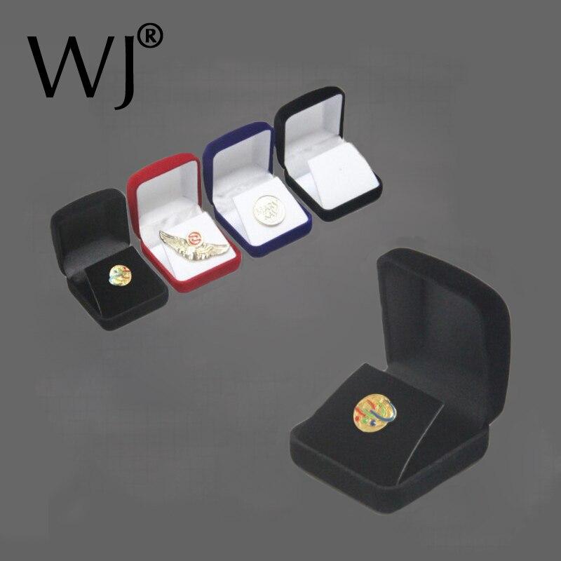Оптовая продажа, медали, памятные монеты, булавки, значок, дисплей, ювелирные изделия, подарочные коробки для хранения, черный бархатный чехол для переноски, Органайзер