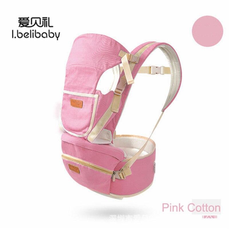 Portabebés Ibelibaby, portabebés transpirable, para niño, 360, bolso de bebé de canguro multifunción, diseño ergonómico, asiento de cadera