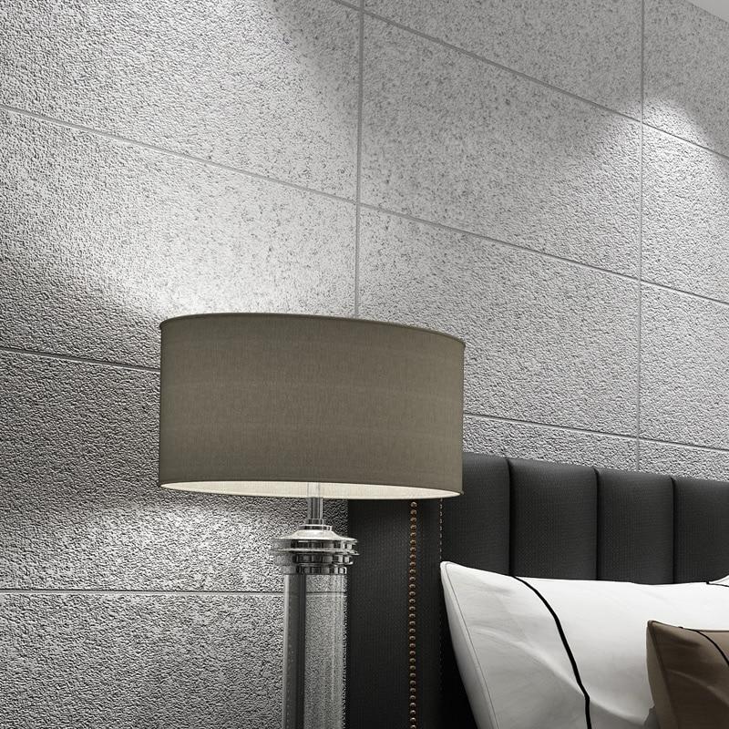 ورق حائط حديث ثلاثي الأبعاد من الرخام المقلد ، ورق حائط شبكي ، غرفة نوم ، غرفة معيشة ، تلفزيون ، ورق حائط مخطط غير منسوج