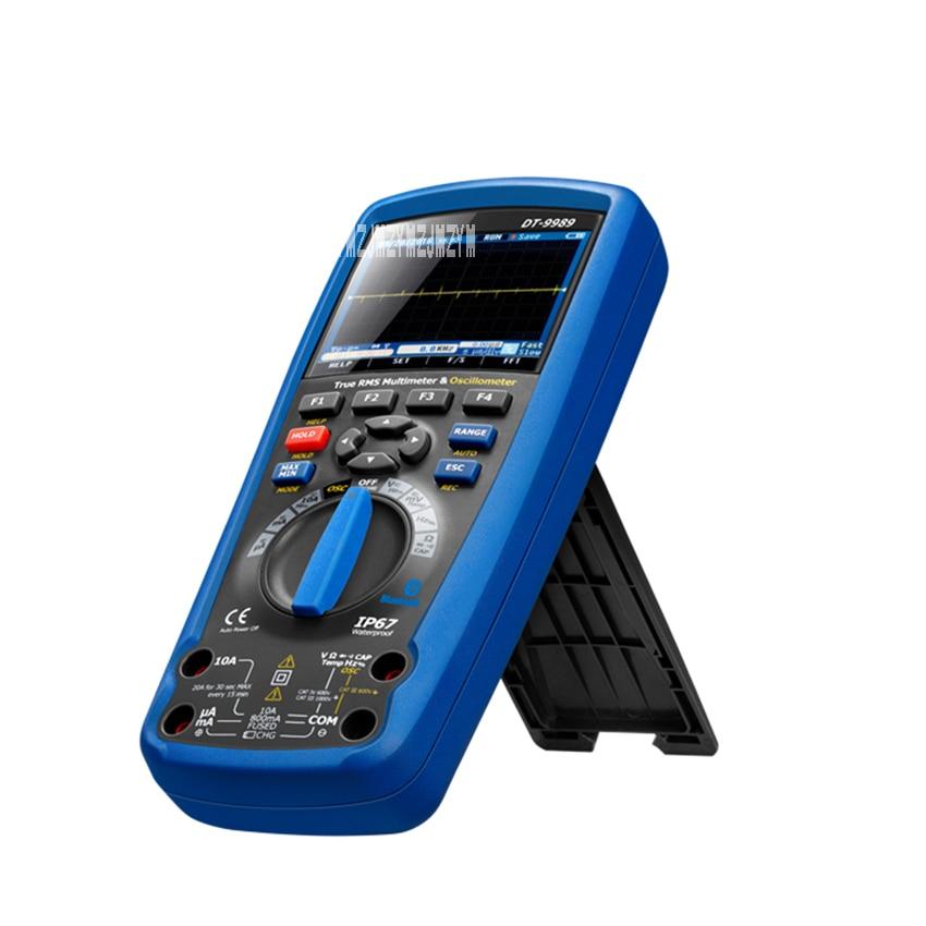 DT-9989 osciloscopio portátil multímetro profesional de mano pantalla de Color multímetro Digital 7,4 V 10Hz 20 20MHz 10mF