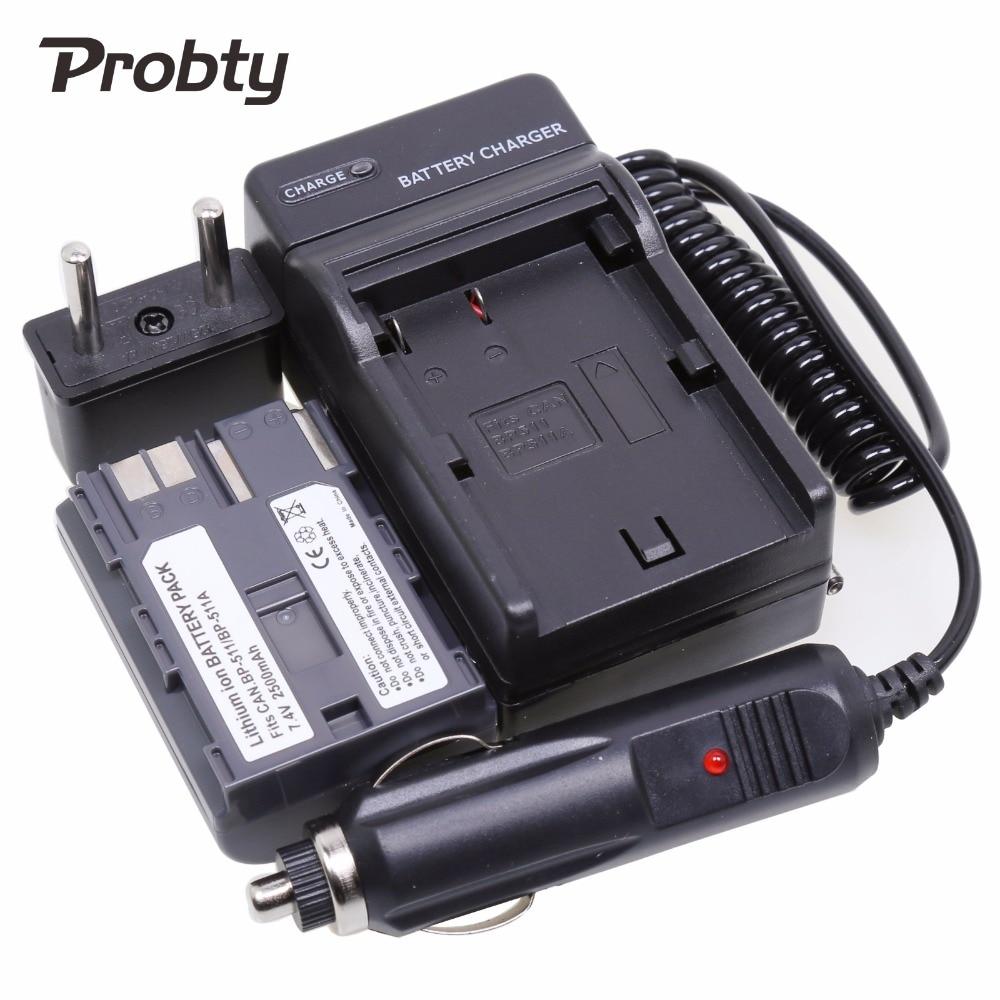 PROBTY 1 Uds BP-511 BP 511 511A batería + cargador Kit para...