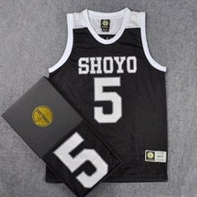 Slam Dunk Shoyo-maillot de basket-ball   Maillot de Cosplay, école secondaire, No.5 Toru Hanagata