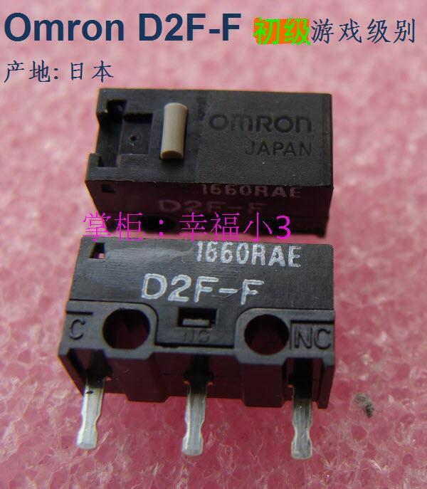 5 unids/pack 100% hecha de forma original en Japón OMRON D2F-F botón del ratón micro interruptor 10 millones de vida