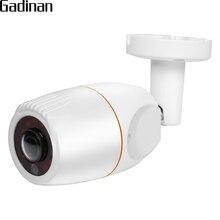 GADINAN Panorama 5MP 1.19 millimetri lente Fisheye di 360 Gradi di Sorveglianza 720 P 960 P/Hi3516CV300 H.265 1080 P macchina fotografica Della Pallottola macchina Fotografica del IP ONVIF