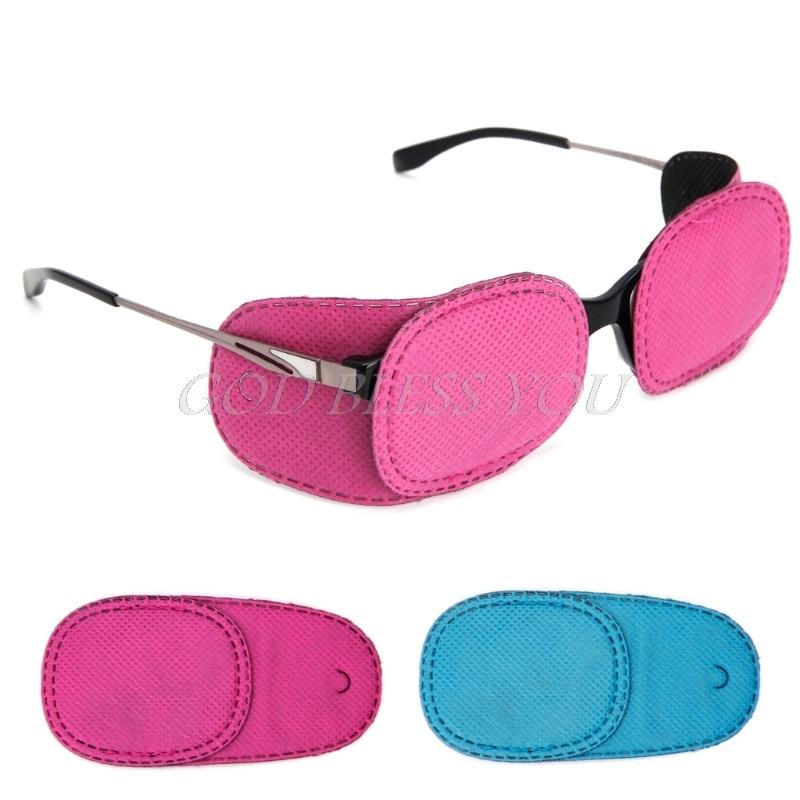 6Pcs Amblyopia Eye Patches Children Kids for Treating Strabismus Glasses Kit New