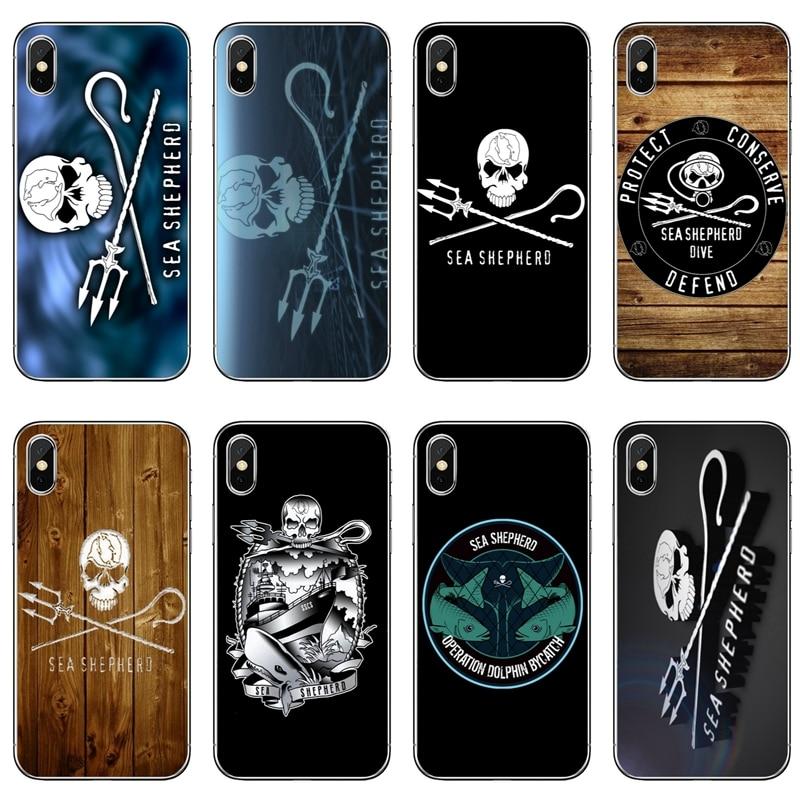 Sea Shepherd ballena guerras contra ballenas teléfono caso para Xiaomi Mi 8 SE Pro 6 6X A1 A2 Lite 5 5S 5x nota mi x 2 s max 2 3 cubierta suave