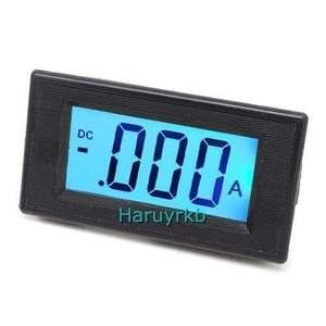 battery Monitor +/- 200UA DC Ammeter current TEST  Digital LCD /amp Meter Charge Discharge Built-in shunt  for AC DC 9V-12V car
