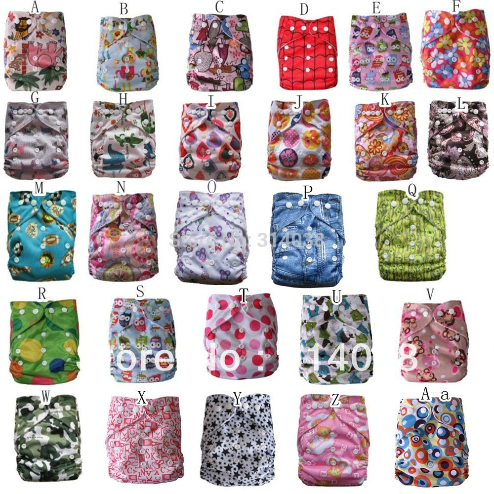 New arrived new design 2sets/lot    2diaper +2bamboo insert (5layer) 0-5 years baby used недорого