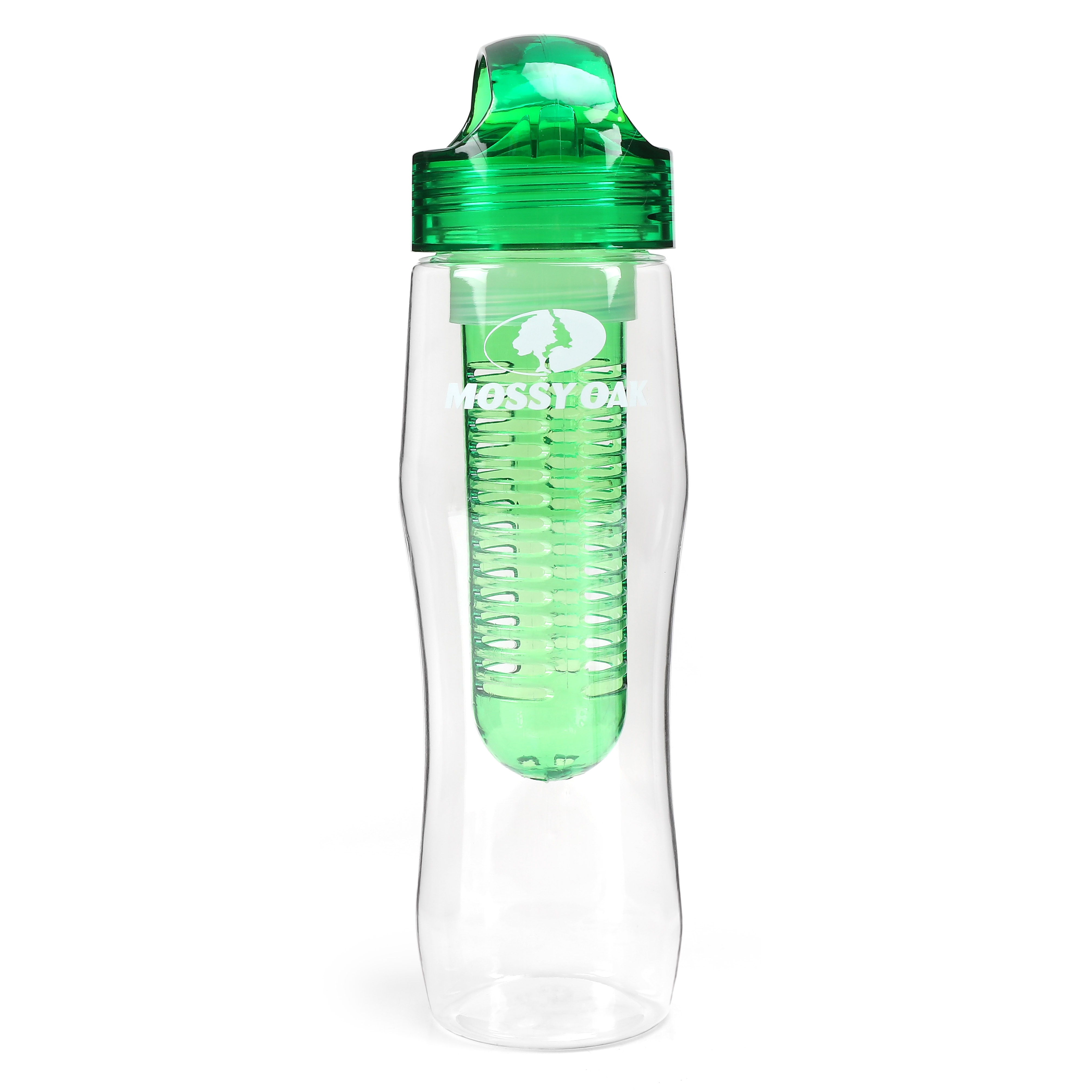 MOSSY OAK 25 Oz fruta infusor botella de agua botella de deporte para senderismo ciclismo Camping gimnasio Yoga Fitness