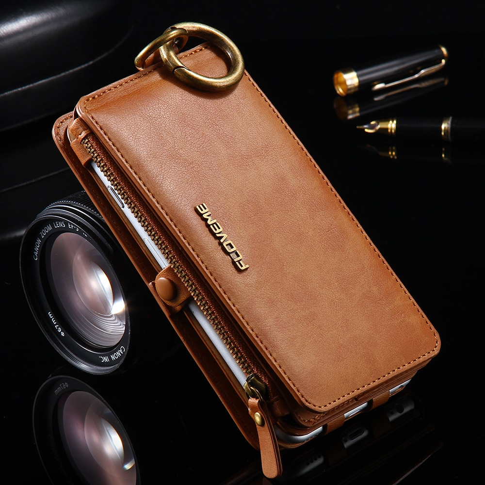 FLOVEME Примечание 3 4 5 Ретро Бумажник кожаный чехол для Samsung Galaxy S6 Edge Plus S7 iPhone XS XR MAX 5S SE 6 6s 7 8 плюс кожанный чехол кошелек для iphone 6