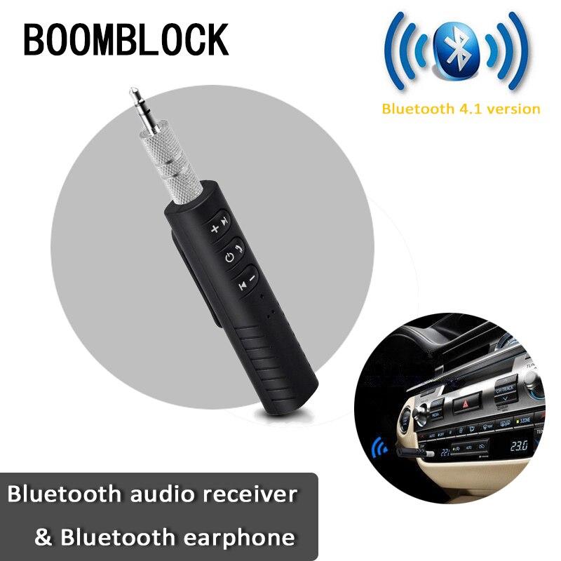 Adaptador receptor de Audio con Bluetooth auxiliar y manos libres para Audi A3 8P A4 B8 B6 B7 A5 A6 C5 C6 C7 Q5 Q7 Suzuki Swift Jimmy Grand Vitara