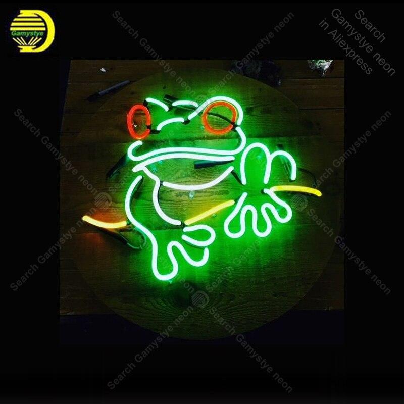 SINAL de NÉON Para Sweet little tree frog lampara luz Sinal de néon luz de néon sinal de venda do vintage para parede Windower personalizado made decorar