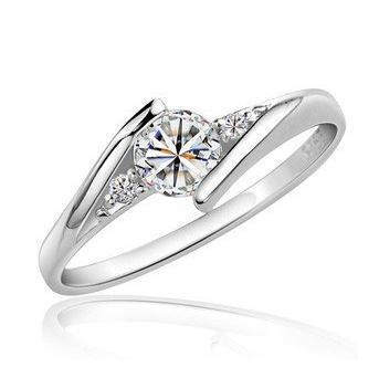 2016 bestselling 925 prata esterlina luxo zircon cristal anéis femininos por atacado anel jóias