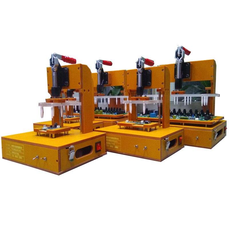 PCBA prueba de PCB ing Jig accesorio placa de circuito accesorio de prueba de PCB Stand Test Rack