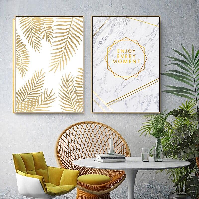 Абстрактные геометрические листва ананас, современные картины, картина на стену, скандинавские постеры, печать, для девочек, для гостиной, д...