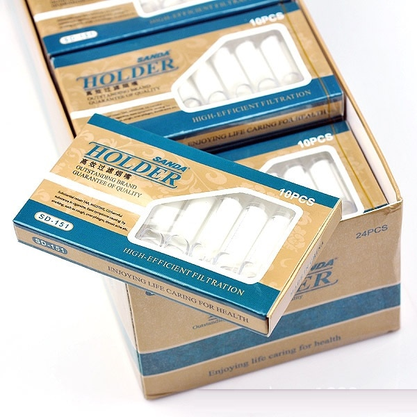 480pcs/lot disposable Cigarette Holder Filter High-efficient filtration healthy tobacco smoking disposable cigarette filter tip enlarge