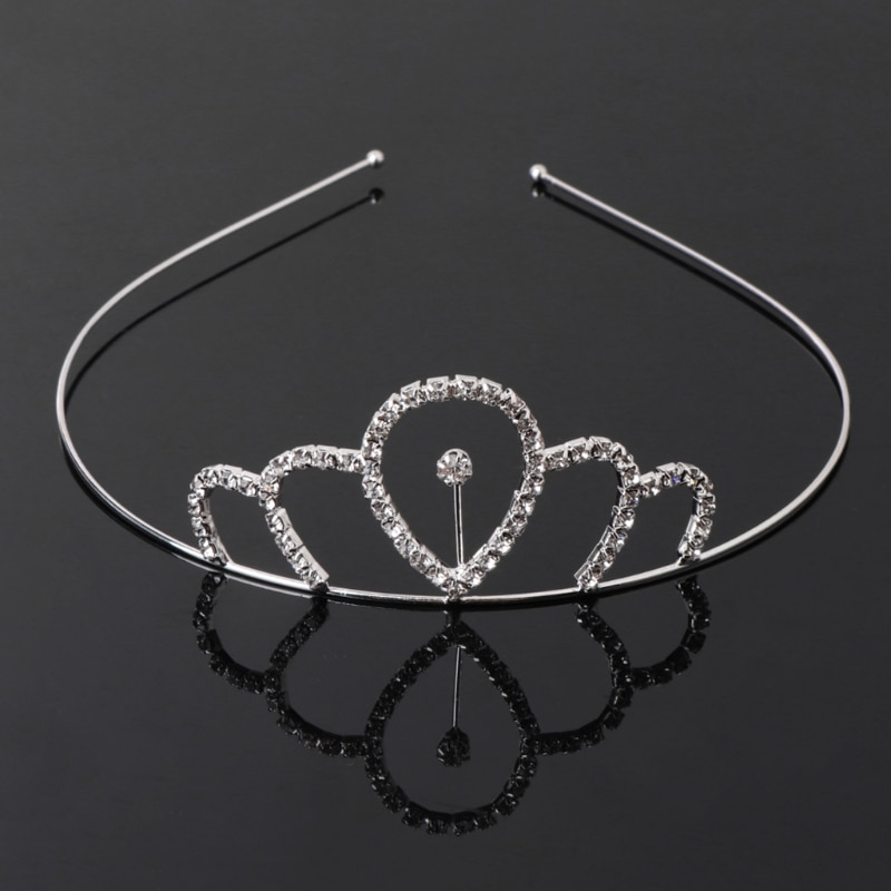 Diadema para niñas, diadema para el pelo, Tiara para niños, Princesa de fiesta con diamantes de imitación, 10 tipos