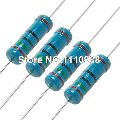 2 W 150 Ohm 1% agujero pasante resistencia de película de Metal 200 piezas