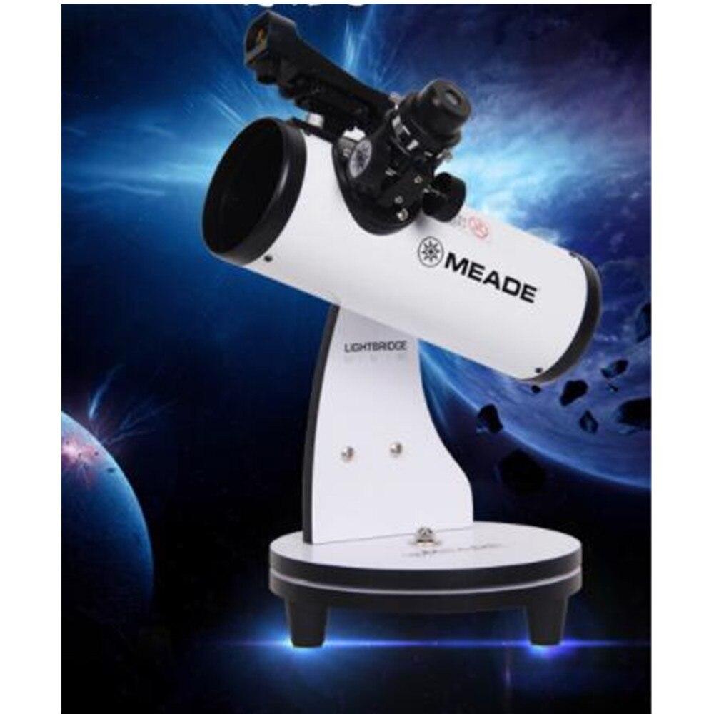 MEADE-telescopio Mini 82 DOB Mavericks, telescopio antiastronómico profesional con estrellas HD, alta velocidad, para comenzar a estudiar