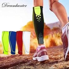 Compression Sports Leg Sleeve Running Leggings Cover Leg Warmers Men Women Bicycle Calf Support Shin Guard Gym Sun UV Protection