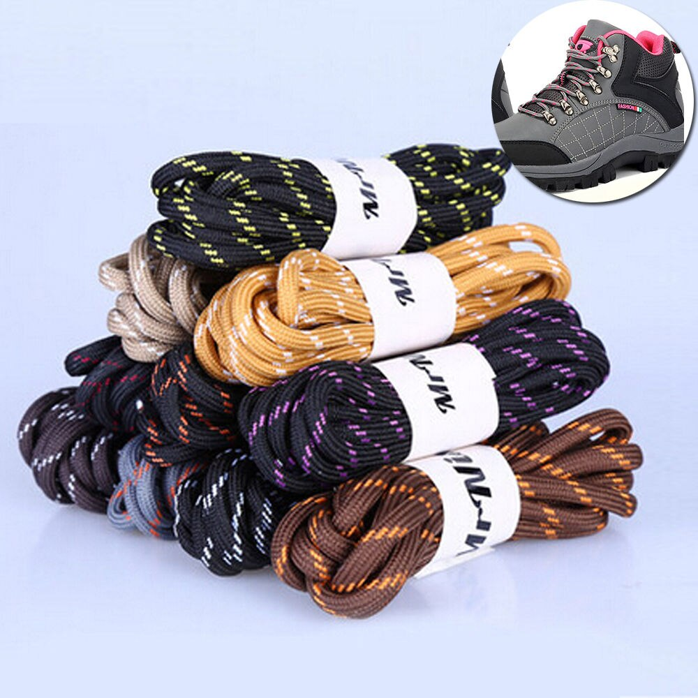 One Pair Bootlaces Walking Boot Hiking Boot Strong Round Laces Bootlaces