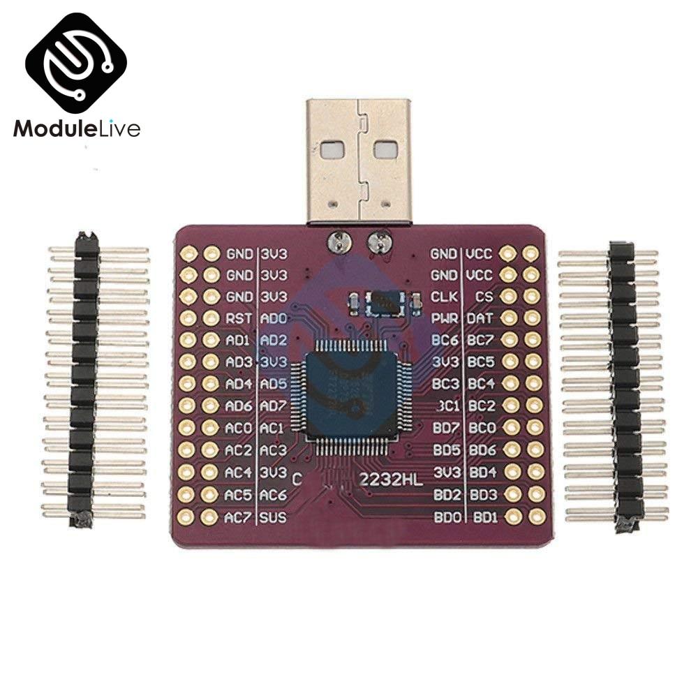 CJMCU-2232HL usb para uart i2c i2c jtag módulo ft2232hl rs232 kit diy eletrônico módulo de placa pcb
