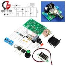 LM317 Digital Display Adjustable Regulated Voltage Regulators Board Module Kits New