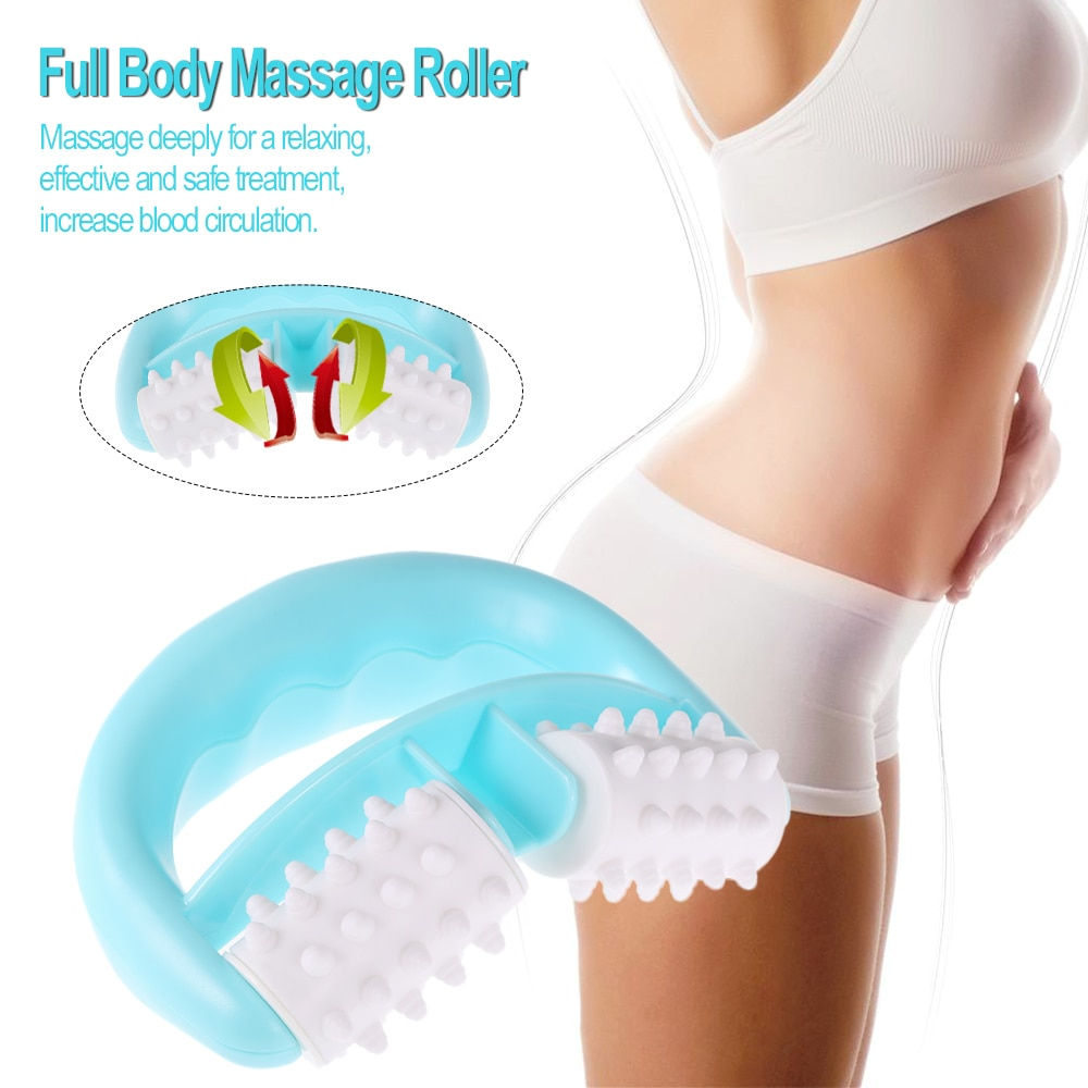 Сотовый роликовый массажер для всего тела, шариковый массажер для шеи, антицеллюлитный массажер для шеи/рук/ног, облегчение боли, ручной массажный инструмент