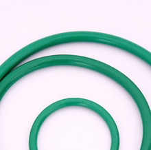 40pcs 2.4mm diameter fluoro rubber O-ring repair box skeleton oil seal PTFE gasket  6mm-13mm outer diameter
