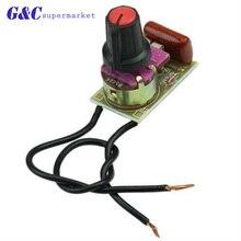 1PCS NEUE Schalter Geschwindigkeit Regulierung Modul DIY Kit Komponenten 100W Dimmer Modul Für Arduino