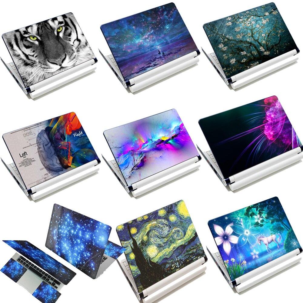"""15 """"15,4"""" 15,6 """"pulgadas ordenador portátil de PVC vinilo pegatina cubierta estrellada noche Galaxy Notebook piel para Macbook Lenovo HP ASUS ACER DELL"""