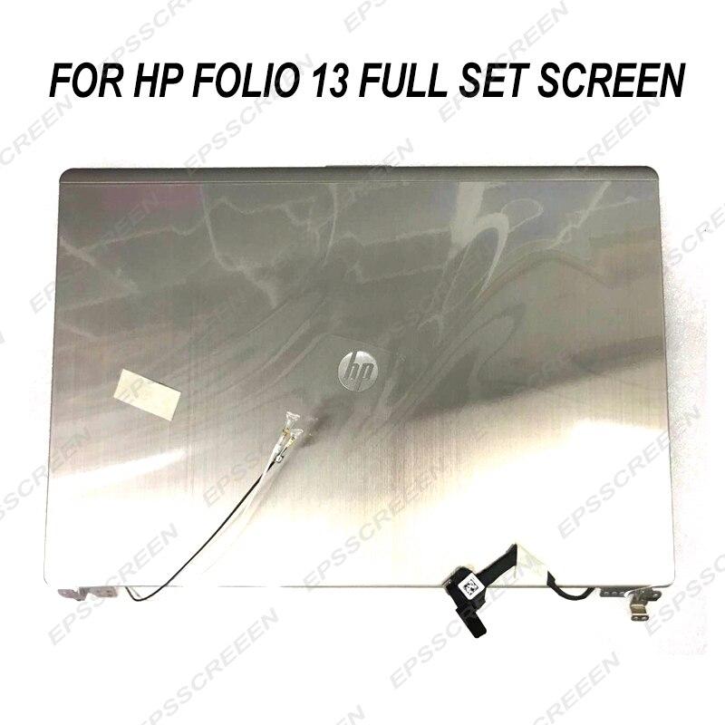 REPUESTO nuevo para HP folio 13 LCD LED pantalla completa 13,3 LP133WH4-TJA1 f2133wh4 matriz pantalla HD PANEL de montaje