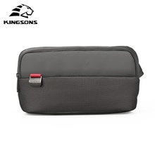 Kingsons Marke Casual Mode Schwarz Taille Packs Männer Frauen Laptop Messenger tasche 10/10,1 zoll Tablet PC Laptop Tasche für iPad 9,7