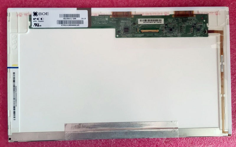 "Para BOE HB140WX1-200 HB140WX1 200 matriz de pantalla LED para ordenador portátil 14,0 ""HD 1366X768 40 pulgadas pantalla LCD mate"