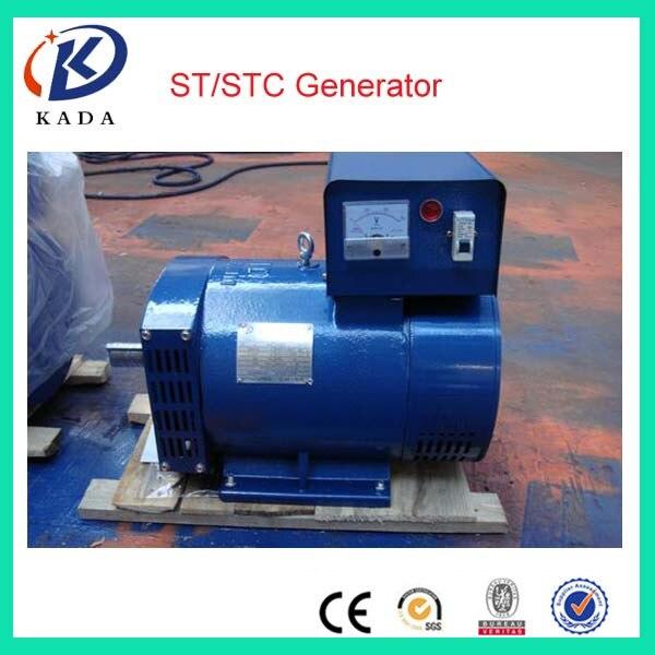 Однофазный щетчатый генератор ST 1/2/3 кВт 220 В 50 Гц переменного тока бесплатная