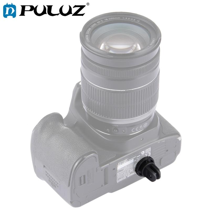 PULUZ-tornillos párr GoPro Hero6... adaptador de montaje para trpode de cmara de...