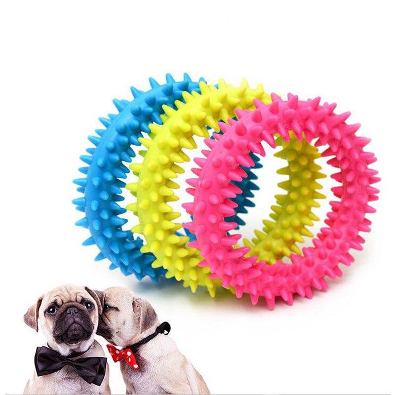 Juguetes Para Perros masticar anillo de juguete para pequeños suministros para mascotas perros cachorro resistencia a morder productos de adiestramiento de perros mascotas
