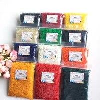 Gel Hydrogel 12 couleurs 5000-3mm 2 5 pieces  jouet pour enfants  boule deau en croissance  perles deau  Vase de decoration pour la maison  boue de sol en cristal